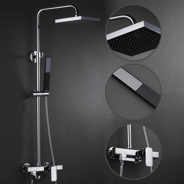 To clean the channel screen you may need to counsel the shower head direction manual In the event that you didn t keep the manual don t freeze Photos - Minimalist contemporary shower heads Picture